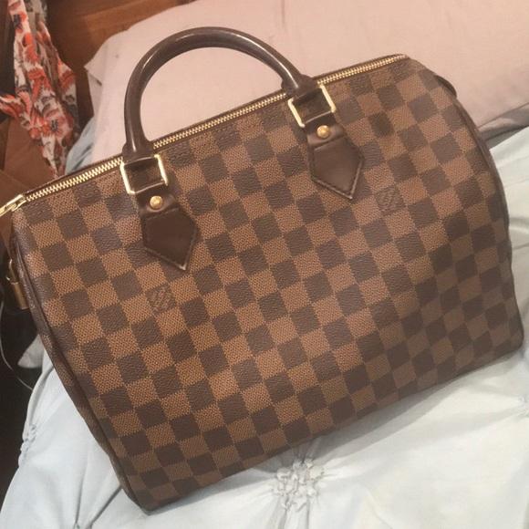 Louis Vuitton Handbags - 100% AUTHENTIC LOUIS VUITTON SPEEDY 30 3bf51825a5562